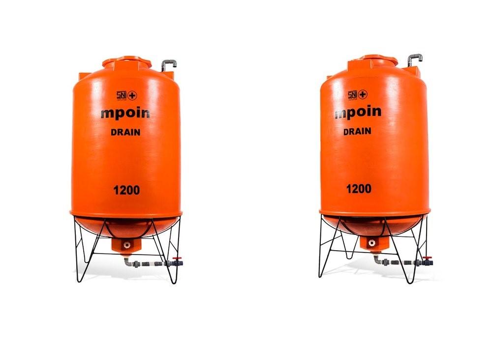 tangki air total drain kamarmandiku orange