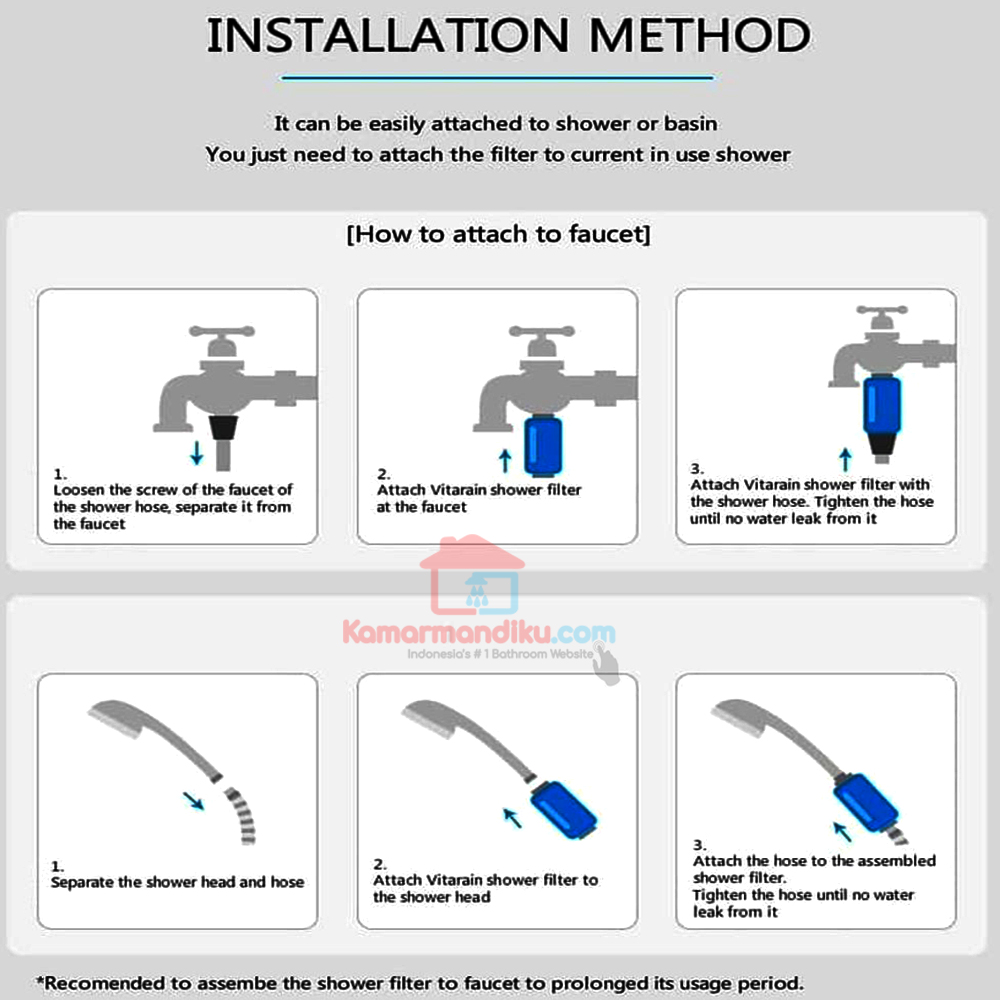 cara-pemasangan-instalasi-vitarain-shower-filter-aromaterapi-anti-oksidan-anti-aging-hilangkan-klorin--kamarmandiku