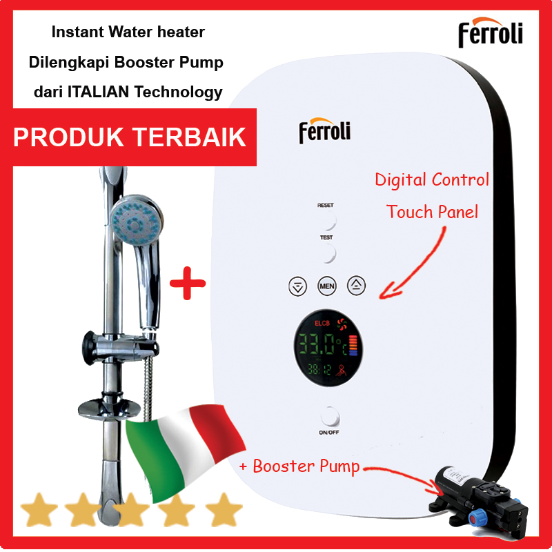 pemanas-air-instan-ferolli-divo-sdp-3-kamarmandiku-digital-touch-control-booster-pump