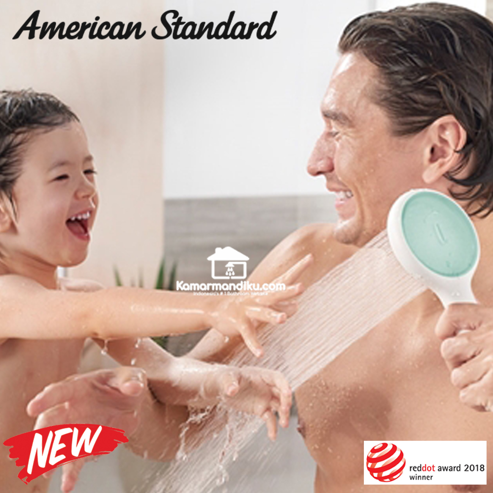 american-standard-hand-shower-Genie--shower-kamarmandiku-terbaru-red-dot-design-award-2018-bathroom